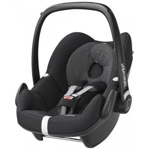 Silla de coche Grupo 0+ Bebé Confort Pebble Black Raven