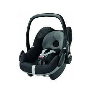 Silla de coche Grupo 0+ Bebé Confort Pebble Origami Black