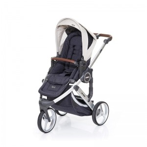 Cochecito Trío Abc Design Cobra Plus 2016 Plata + Asiento Street Sheep + Grupo 0 + manoplas