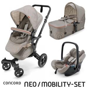 Cochecito Concord Neo 2016 Mobility Set Cool Beige