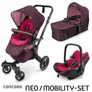 Cochecito Concord Neo 2016 Mobility Set Rose Pink