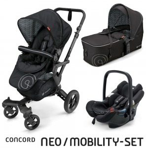 Cochecito Concord Neo 2016 Mobility Set Midnight Black