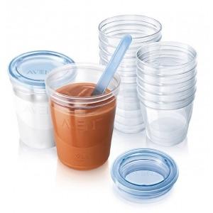 5 Vasos Via Con Tapas 240 ml