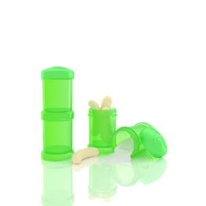 Dosificador Twistshake 2 x 100 ml Verde