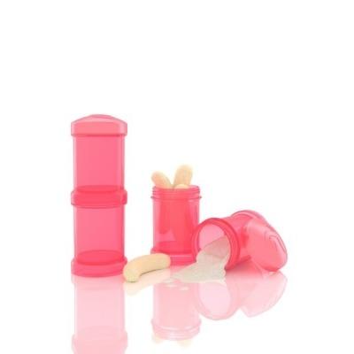 Dosificador Twistshake 2 x 100 ml Coral