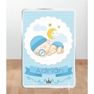 Cuadro Infantil Kirolin sobremesa Personalizado Adrián