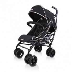 Silla de Paseo Baby Luxe Chasis Negro y Base Negra