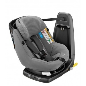 Silla de coche del Grupo 1 de Bebé Confort Axissfix Plus I-Size 2017 Concrete Grey