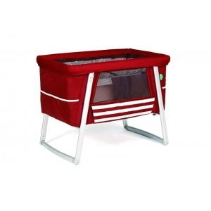 Minicuna Babyhome Air Set completo Red