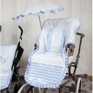 Funda de silla Oporto Azul