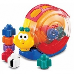 Caracol Bloques y Música Fisher Price
