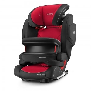 Silla de coche de los Grupos 1, 2 y 3 Recaro Monza Nova IS 2019 Racing Red