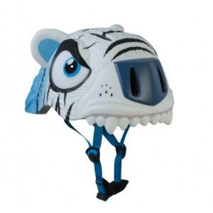 Casco de Seguridad Crazy Safety Tigre Blanco