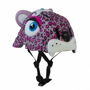Casco de Seguridad Crazy Safety Leopardo Rosa