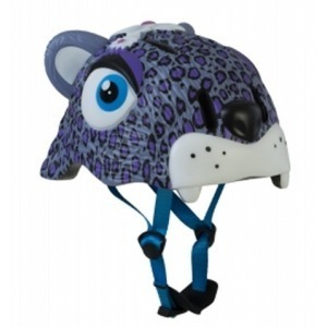 Casco de Seguridad Crazy Safety Leopardo Morado