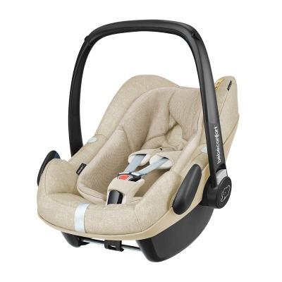 Silla de coche Grupo 0+ Bebé Confort I-Size Pebble PlusNomad Sand