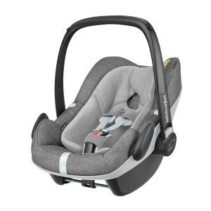Silla de coche Grupo 0+ Bebé Confort I-Size Pebble Plus Nomad Grey