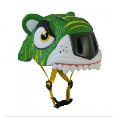 Casco de Seguridad Crazy Safety Tigre Verde