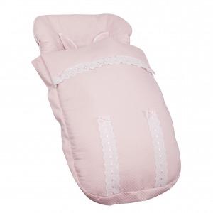 Saco de silla para Bugaboo Classic Rosa Bebé