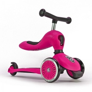 Patinete 2 en 1 Scoot And Ride Highwaykick One Rosa