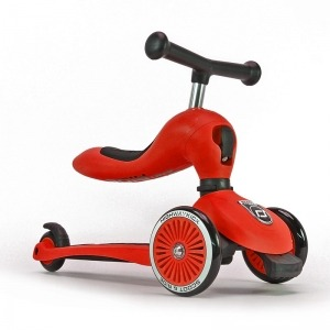 Patinete 2 en 1 Scoot And Ride Highwaykick One Rojo