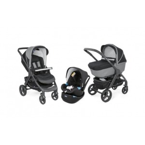 Cochecito Trio Chicco StyleGo Up 2018 Jet Black