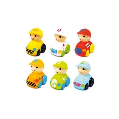 Bote de 6 muñecos baño Olmitos Emergency