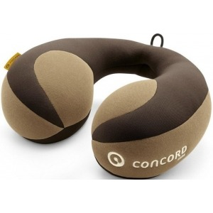 Almohada de viaje cervical Concord Luna Walnut Brown
