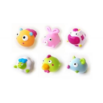 Bote de 6 muñecos baño Olmitos Farm Animals