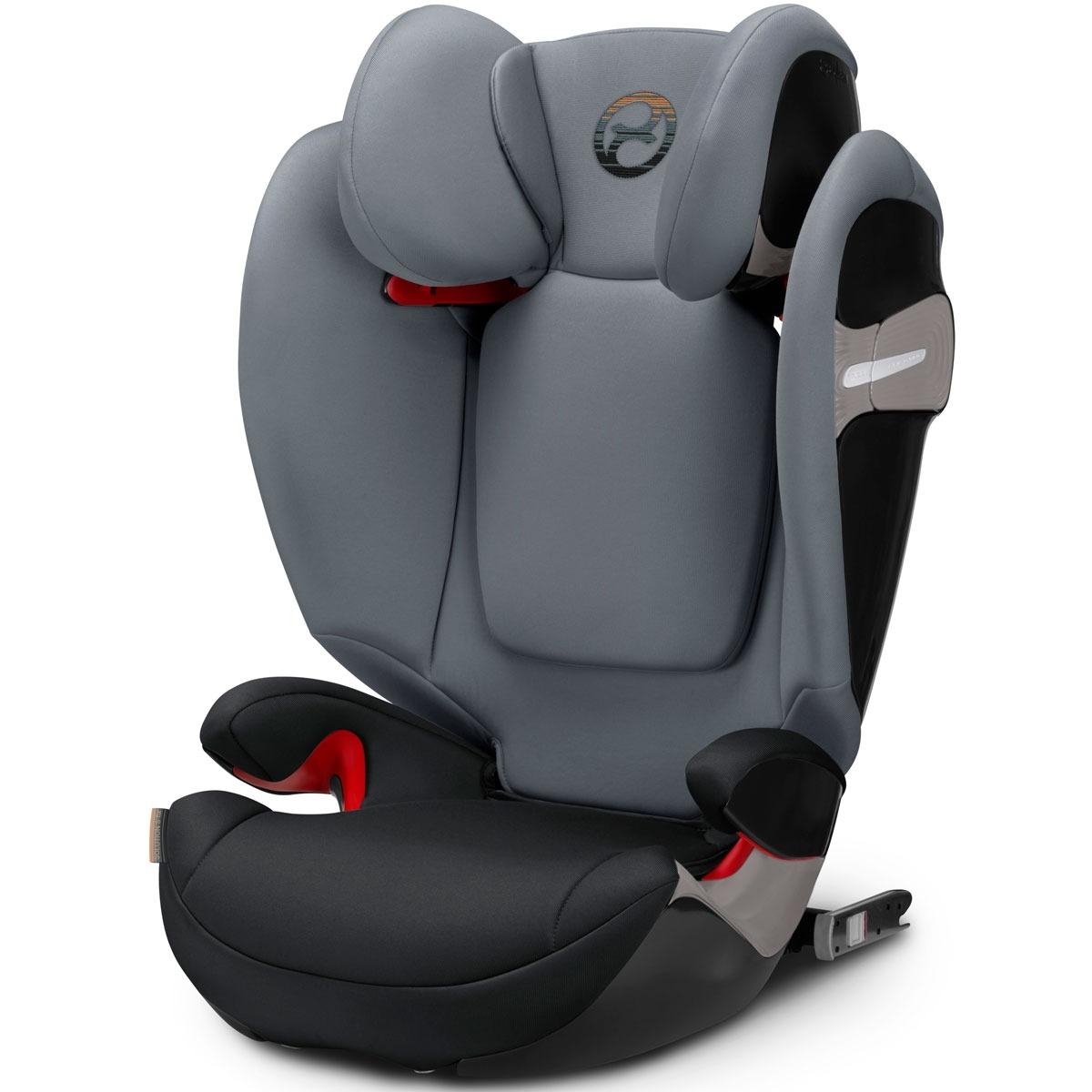 silla de coche cybex solution s fix 2018 pepper black. Black Bedroom Furniture Sets. Home Design Ideas