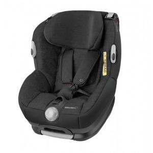 Silla de coche del Grupo 0+ y 1 Bebé Confort Opal Nomad Black