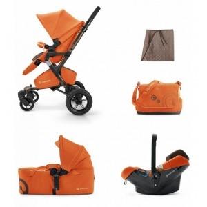 Cochecito Trio Concord Neo Mobility Neo Air Scout Edición Limitada Rusty Orange