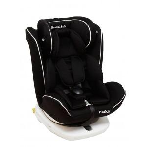 Silla de coche Mondial Safe Osaka Isofix Negra con Vivo Blanco