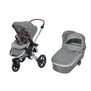 Cochecito Duo Bebe Confort Nova 3 Ruedas Nomad Grey