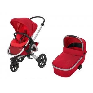 Cochecito Duo Bebe Confort Nova 3 Ruedas Vivid Red