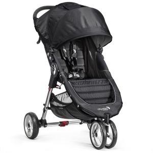 Silla de paseo Baby Jogger City Mini 3 Negra Gris