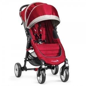 Silla de paseo Baby Jogger City Mini 4 Roja/Gris