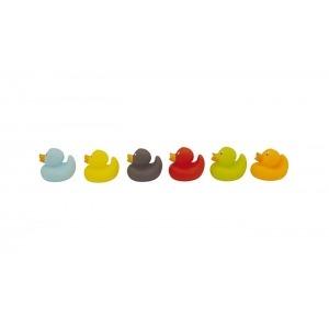 Bote de 6 muñecos baño Olmitos Duckies
