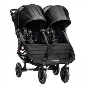 Silla de Paseo Baby Jogger City Mini GT Gemelar Negra