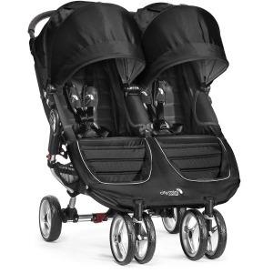 Silla de Paseo Baby Jogger City Mini Gemelar Negro Gris