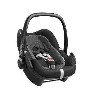 Silla de coche Grupo 0+ Bebé Confort I-Size Pebble Plus Black Raven
