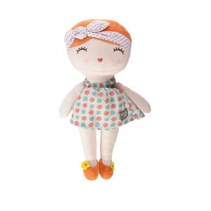 Muñeca de Pelo Naranja