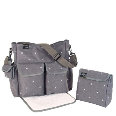 Bolsa Cambiador Walking Mum Gaby Winter Gris