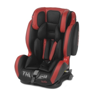 Silla de Coche Grupo 1/2/3 Be Cool Thunder 2020 con Isofix Red Devil