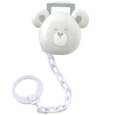 Protege Chupete de Saro Happy Teddy