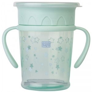 Taza Antigoteo Saro Amazing Cup Verde