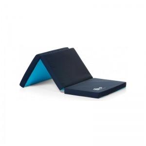 Colchón Innovaciones MS plegable para cuna de viaje Azul