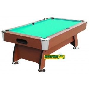 Billar Masgames Deluxe Marrón (6ft)