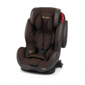 Silla de Coche Grupo 1/2/3 Be Cool Thunder con Isofix Brownie