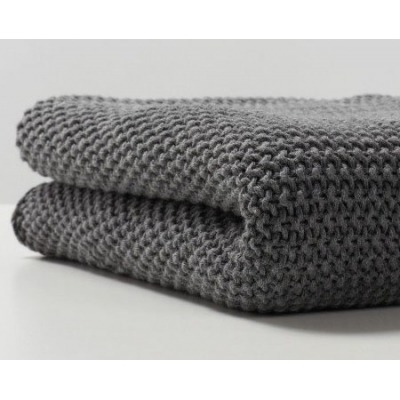 Manta Bonjourbebe Organic Cotton Grey